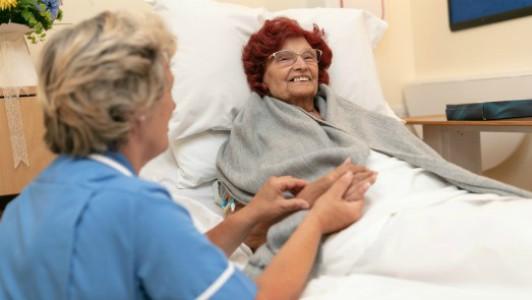 Patient at Fair Havens
