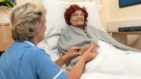 Fair Havens patient Olive with an In Patient Nurse