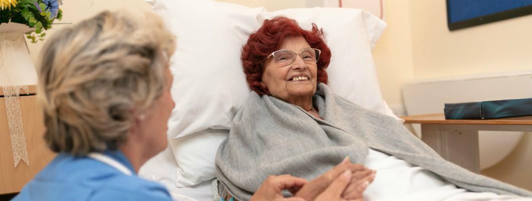 Fair Havens patient Olive in In Patient Unit