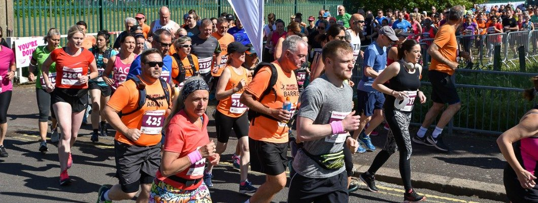 Runners at the Southend Half Marathon