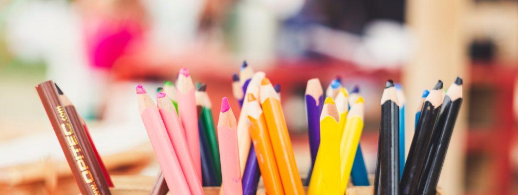 Pencils in a pot