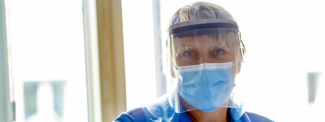 Fair Havens Nurse in PPE