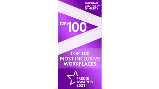 Top 100 most inclusive workplaces